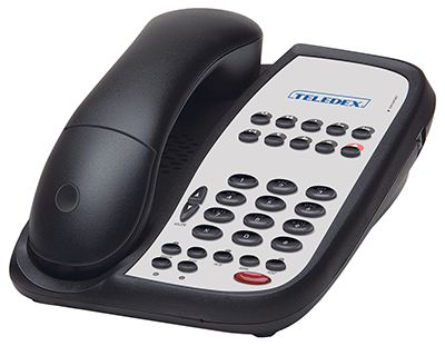 Teledex I Series NDC2210S two line hotel phone
